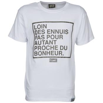 Υφασμάτινα Άνδρας T-shirt με κοντά μανίκια Wati B LOIN άσπρο