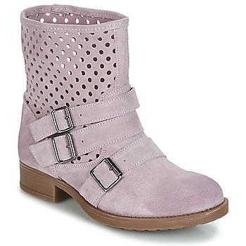 Παπούτσια Γυναίκα Μπότες Casual Attitude DISNELLE Ροζ