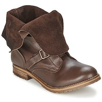 Παπούτσια Γυναίκα Μπότες Casual Attitude DISNELLE Brown