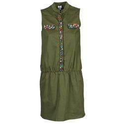 Υφασμάτινα Γυναίκα Κοντά Φορέματα Alba Moda HELDBLUSENKLEID KAKI
