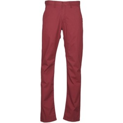 Υφασμάτινα Άνδρας Παντελόνια Chino/Carrot Lee CHINO OXBLOOD Red