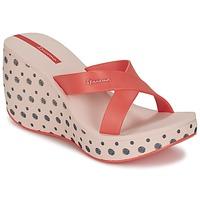 Παπούτσια Γυναίκα Τσόκαρα Ipanema LIPSTICK STRAPS II Red / Ροζ