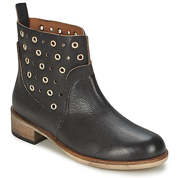 Παπούτσια Γυναίκα Μπότες Hugo Boss Orange 50266292 Black