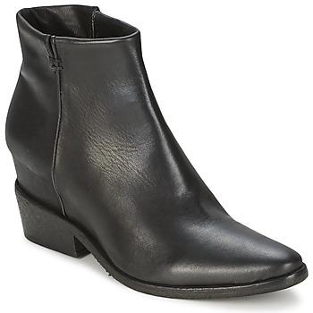 Παπούτσια Γυναίκα Μπότες Strategia BLOCUSSON Black