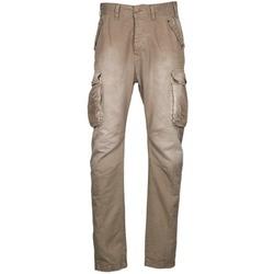 Υφασμάτινα Άνδρας παντελόνι παραλλαγής Freeman T.Porter PUNACHO COTTON GAB CHOCOLATE CHIP Brown / Beige