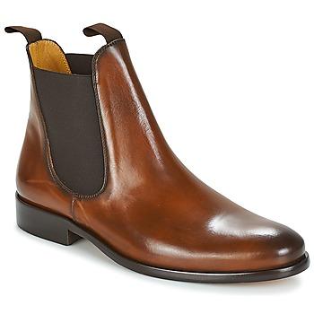 Παπούτσια Άνδρας Μπότες Brett & Sons BERNARD Cognac