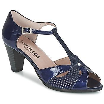 Παπούτσια Γυναίκα Σανδάλια / Πέδιλα Pitillos MARILOU Marine