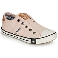 Παπούτσια Κορίτσι Χαμηλά Sneakers Mustang SHAYAN ροζ