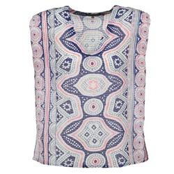 Υφασμάτινα Γυναίκα Μπλούζες Antik Batik JAGGA μπλέ / Multicolore