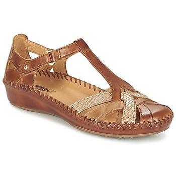 Παπούτσια Γυναίκα Σανδάλια / Πέδιλα Pikolinos PUERTO VALLARTA 655 CAMEL