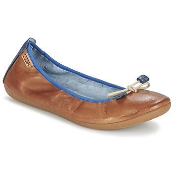 Παπούτσια Γυναίκα Μπαλαρίνες Pikolinos BORA BORA Camel
