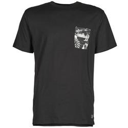 Υφασμάτινα Άνδρας T-shirt με κοντά μανίκια DC Shoes WOODGLEN Black