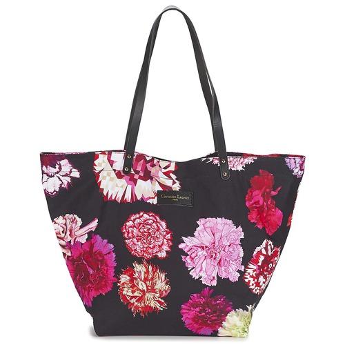 Τσάντες Γυναίκα Cabas / Sac shopping Christian Lacroix LIDIA 1 Black / ροζ