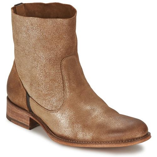 Παπούτσια Γυναίκα Μπότες n.d.c. SANDRINE SOFTY BRILLO Dore