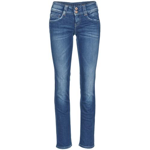 Υφασμάτινα Γυναίκα Τζιν σε ίσια γραμμή Pepe jeans GEN Μπλέ / D45