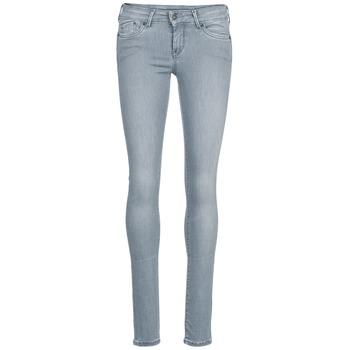 Υφασμάτινα Γυναίκα Skinny Τζιν  Pepe jeans PIXIE Grey / Q81