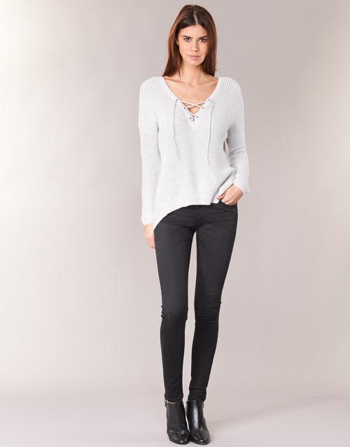 Υφασμάτινα Γυναίκα Skinny jeans Pepe jeans SOHO  s98 / Black