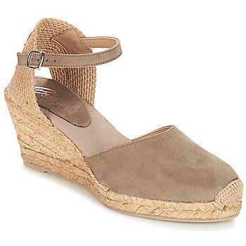 Παπούτσια Γυναίκα Σανδάλια / Πέδιλα Betty London TECHNO Taupe