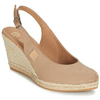 Παπούτσια Γυναίκα Σανδάλια / Πέδιλα Betty London TECHNO Beige
