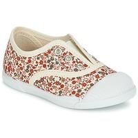 Παπούτσια Κορίτσι Χαμηλά Sneakers Citrouille et Compagnie RIVIALELLE Ecru / Multicolore