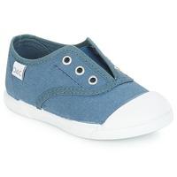 Παπούτσια Παιδί Χαμηλά Sneakers Citrouille et Compagnie RIVIALELLE Μπλέ / Jeans