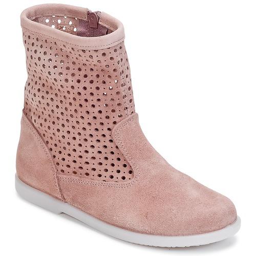 Παπούτσια Κορίτσι Μπότες Citrouille et Compagnie BOREAL ροζ