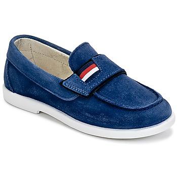 Παπούτσια Αγόρι Μοκασσίνια Citrouille et Compagnie LILMOUSSE μπλέ / MARINE