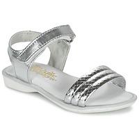Παπούτσια Κορίτσι Σανδάλια / Πέδιλα Citrouille et Compagnie GOSAGOLA Argenté