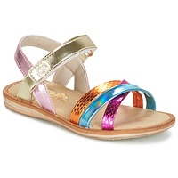 Παπούτσια Κορίτσι Σανδάλια / Πέδιλα Citrouille et Compagnie MINIRAVI Multicolore