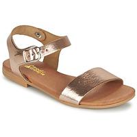 Παπούτσια Κορίτσι Σανδάλια / Πέδιλα Citrouille et Compagnie JOUBI Cuivré