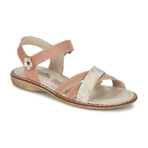 Παπούτσια Κορίτσι Σανδάλια / Πέδιλα Citrouille et Compagnie JANDOLI Nude