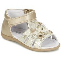 Παπούτσια Κορίτσι Σανδάλια / Πέδιλα Citrouille et Compagnie PAQUETI Beige