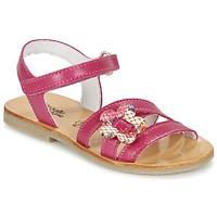 Παπούτσια Κορίτσι Σανδάλια / Πέδιλα Citrouille et Compagnie CHOUPINETTE Fushia