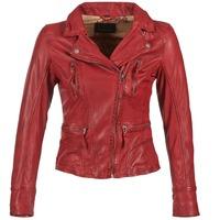 Υφασμάτινα Γυναίκα Δερμάτινο μπουφάν Oakwood 60861 Red