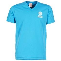 Υφασμάτινα Άνδρας T-shirt με κοντά μανίκια Franklin & Marshall DOBSON μπλέ