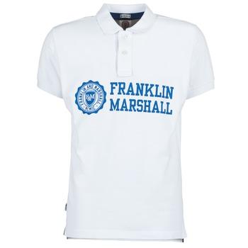 Πόλο με κοντά μανίκια Franklin Marshall AYLEN Σύνθεση: Βαμβάκι