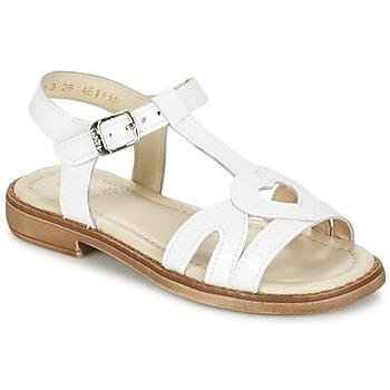 Παπούτσια Κορίτσι Σανδάλια / Πέδιλα Aster TCHANIA Άσπρο