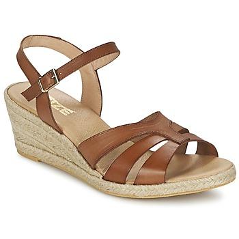 Παπούτσια Γυναίκα Σανδάλια / Πέδιλα So Size ELIZA Brown