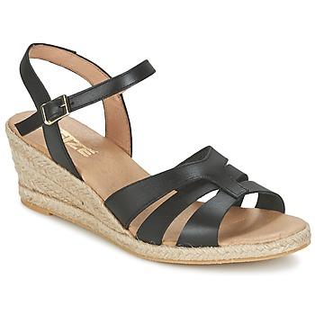 Παπούτσια Γυναίκα Σανδάλια / Πέδιλα So Size ELIZA Black