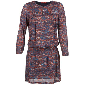 Υφασμάτινα Γυναίκα Κοντά Φορέματα Esprit AGAROZA Marine / Multicolore
