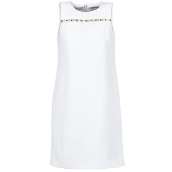 Υφασμάτινα Γυναίκα Κοντά Φορέματα MICHAEL Michael Kors MS68W2L3GZ άσπρο