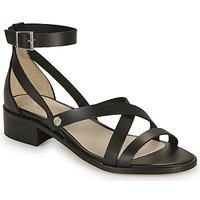 Παπούτσια Γυναίκα Σανδάλια / Πέδιλα Casual Attitude COUTIL Black