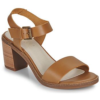 Παπούτσια Γυναίκα Σανδάλια / Πέδιλα Casual Attitude CAILLE Camel