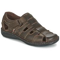 Παπούτσια Άνδρας Σανδάλια / Πέδιλα Casual Attitude ZIRONDEL Brown