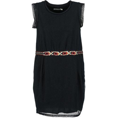 Υφασμάτινα Γυναίκα Κοντά Φορέματα See U Soon MOREPEN Black