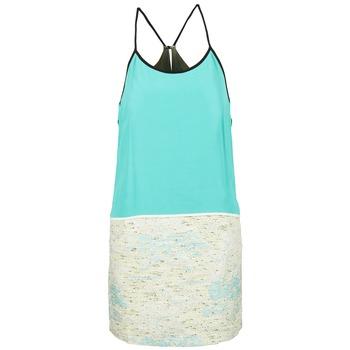 Υφασμάτινα Γυναίκα Κοντά Φορέματα See U Soon ELEMAILLE Μπλέ / Άσπρο