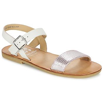 Παπούτσια Κορίτσι Σανδάλια / Πέδιλα Start Rite FLORA II Ροζ / Άσπρο