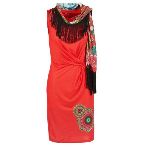 Υφασμάτινα Γυναίκα Κοντά Φορέματα Desigual USIME Red