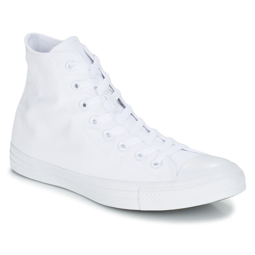 Παπούτσια Ψηλά Sneakers Converse CHUCK TAYLOR ALL STAR MONO HI Άσπρο