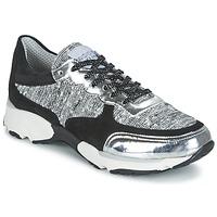 Παπούτσια Γυναίκα Χαμηλά Sneakers Meline AMAL Black / Άσπρο / Grey
